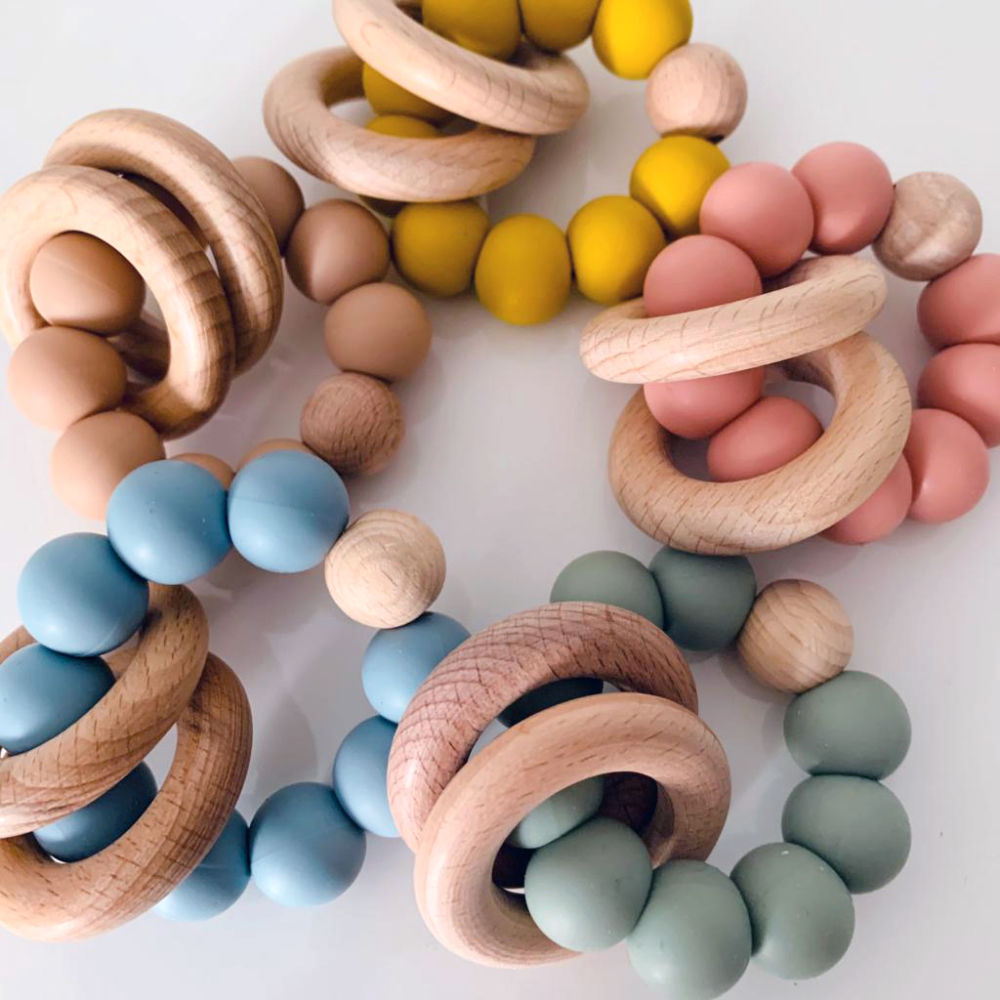 Details about  /Minni Single Teether RingsBBMinni Single Teether Rings